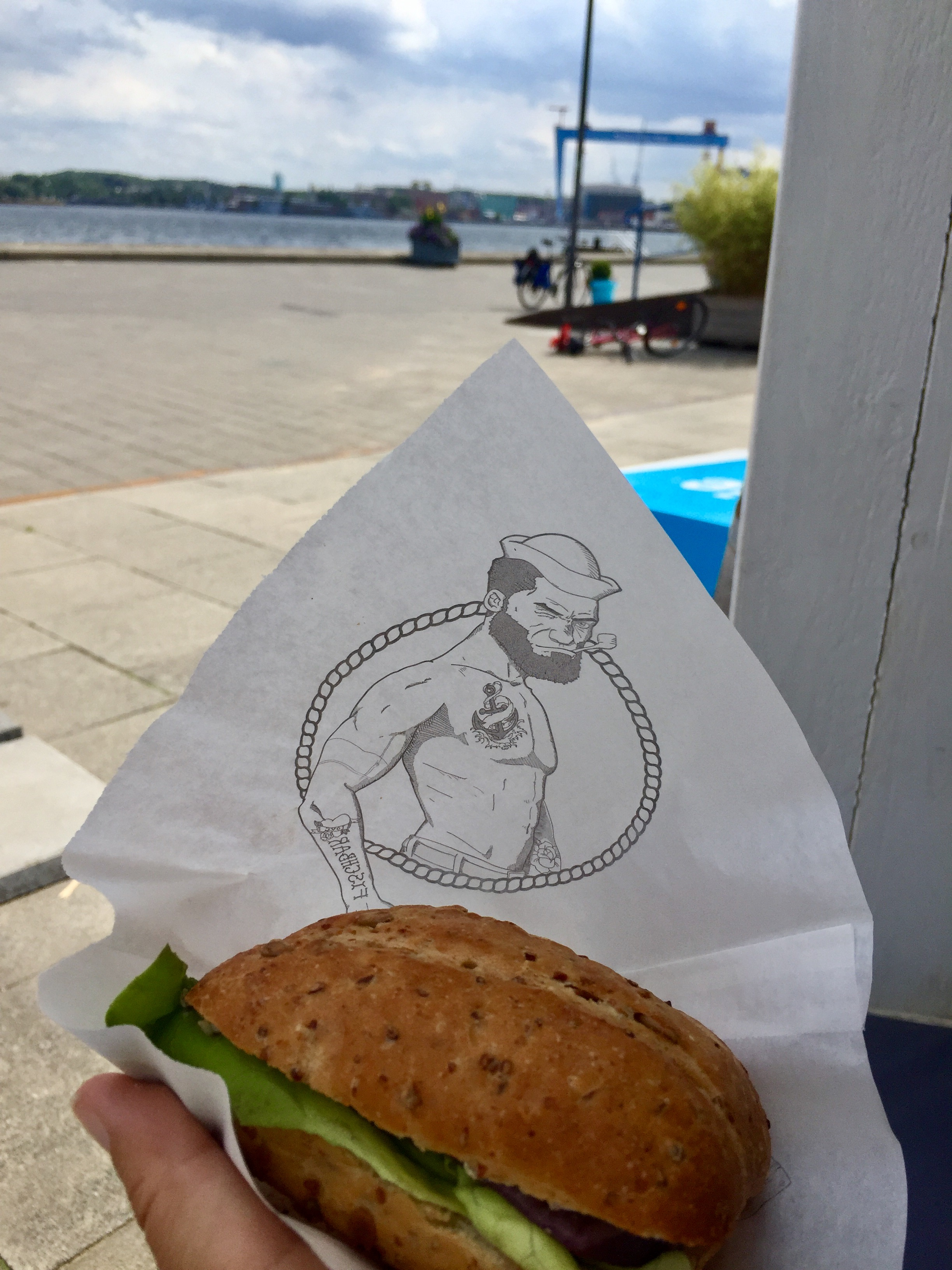 Best Fischbrötchen ever - in Kiel