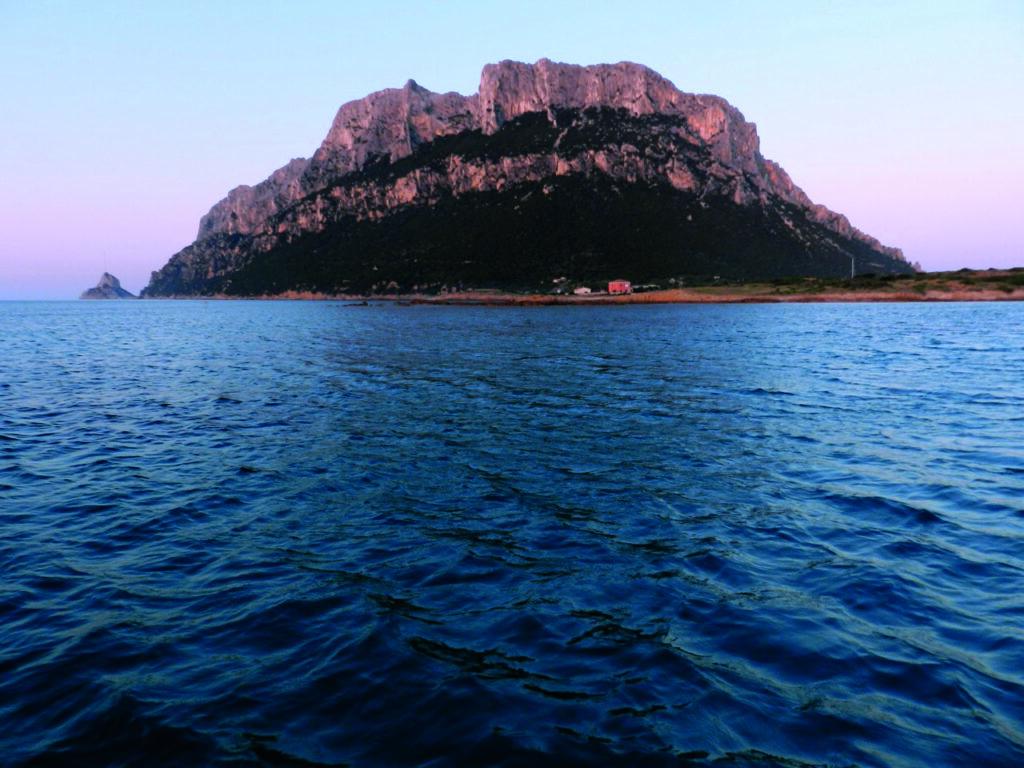 Das kleinste Königreich der Welt im Abendlicht: Isola Tavolara