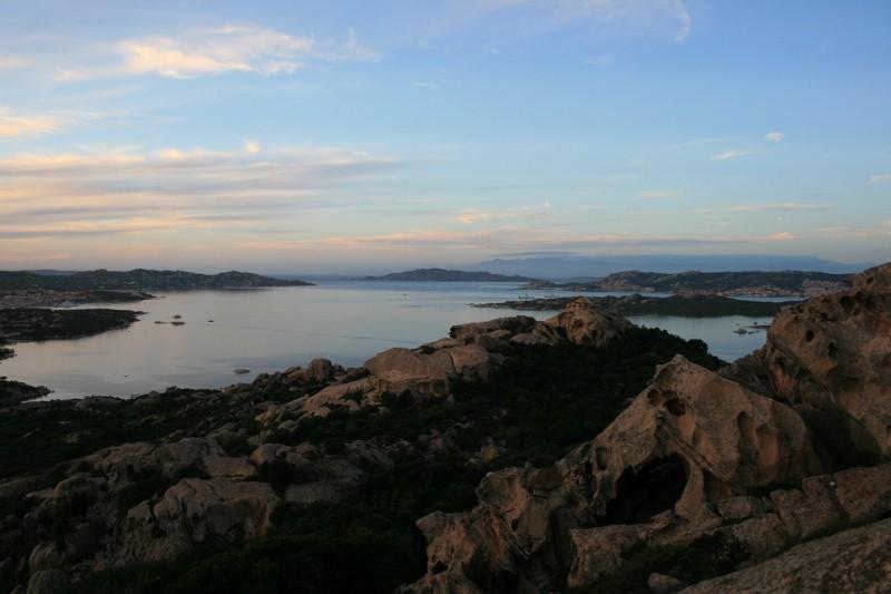 Blick Richtung Korsika