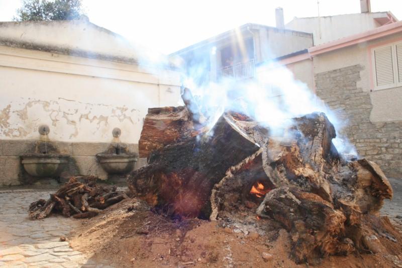 Feuer von Sant'Antonio