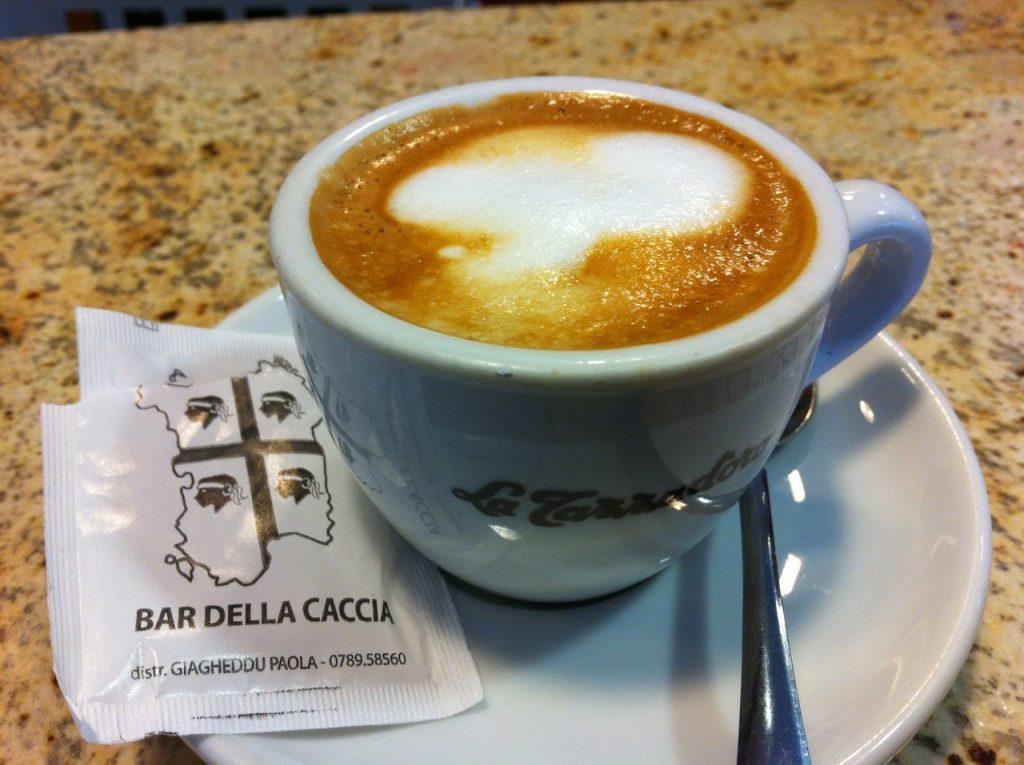 """Minimalziel: einen """"caffè macchiato"""" bestellen und bezahlen können :)"""