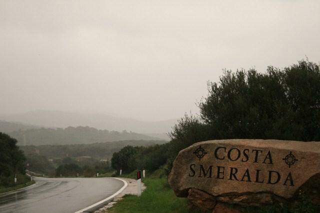 Costa Smeralda im Regen