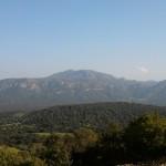 Ziel am Horizont: Gipfelregion des Monte Nieddu