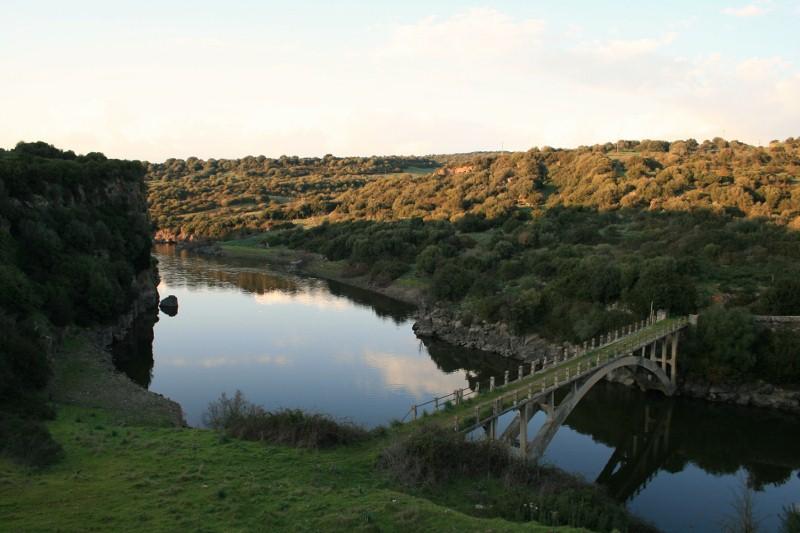 Der Fluss Tirso