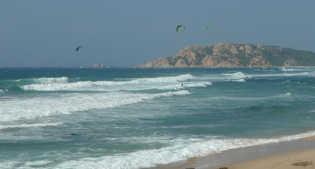 Wichtig für die Kite-Safari: Wind und Wellen