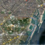 Barcelona von oben