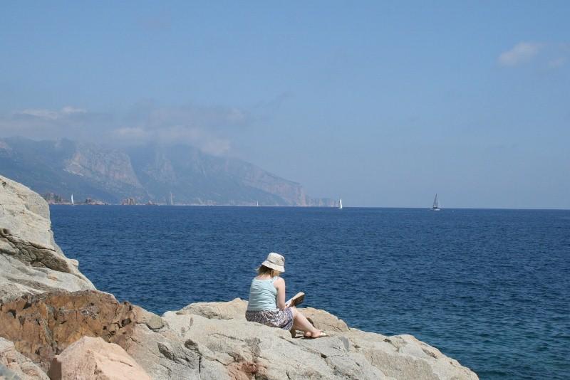 Im Süden Blick auf den Supramonte marino
