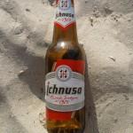 Ichnusa - das ideale Strandbier