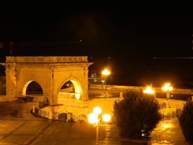 Bastione di Saint Rémy am Abend