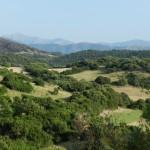 Hügellandschaft am Monte Arcuentu