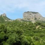 Leicht zu erkennen: Gipfel des Monte Arcuentu