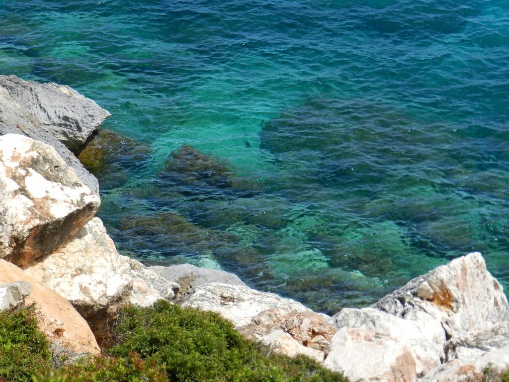 Ein echter Hingucker - das sardische Meer