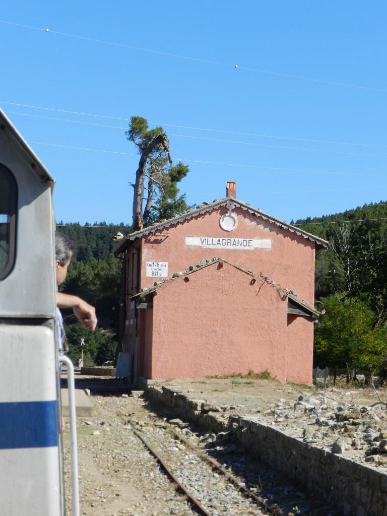 Bahnhof Villagrande