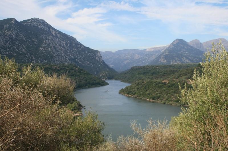 Lago und Fiume Cedrino