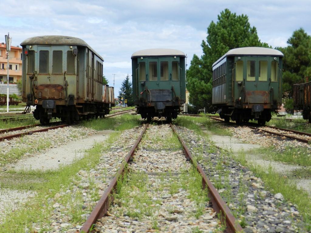 Diese kleinen grünen Züge fuhren schon lang nirgendwo mehr hin ...