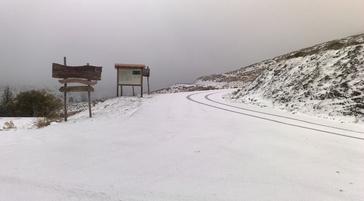 Gennargentu: Schnee am 28. Oktober