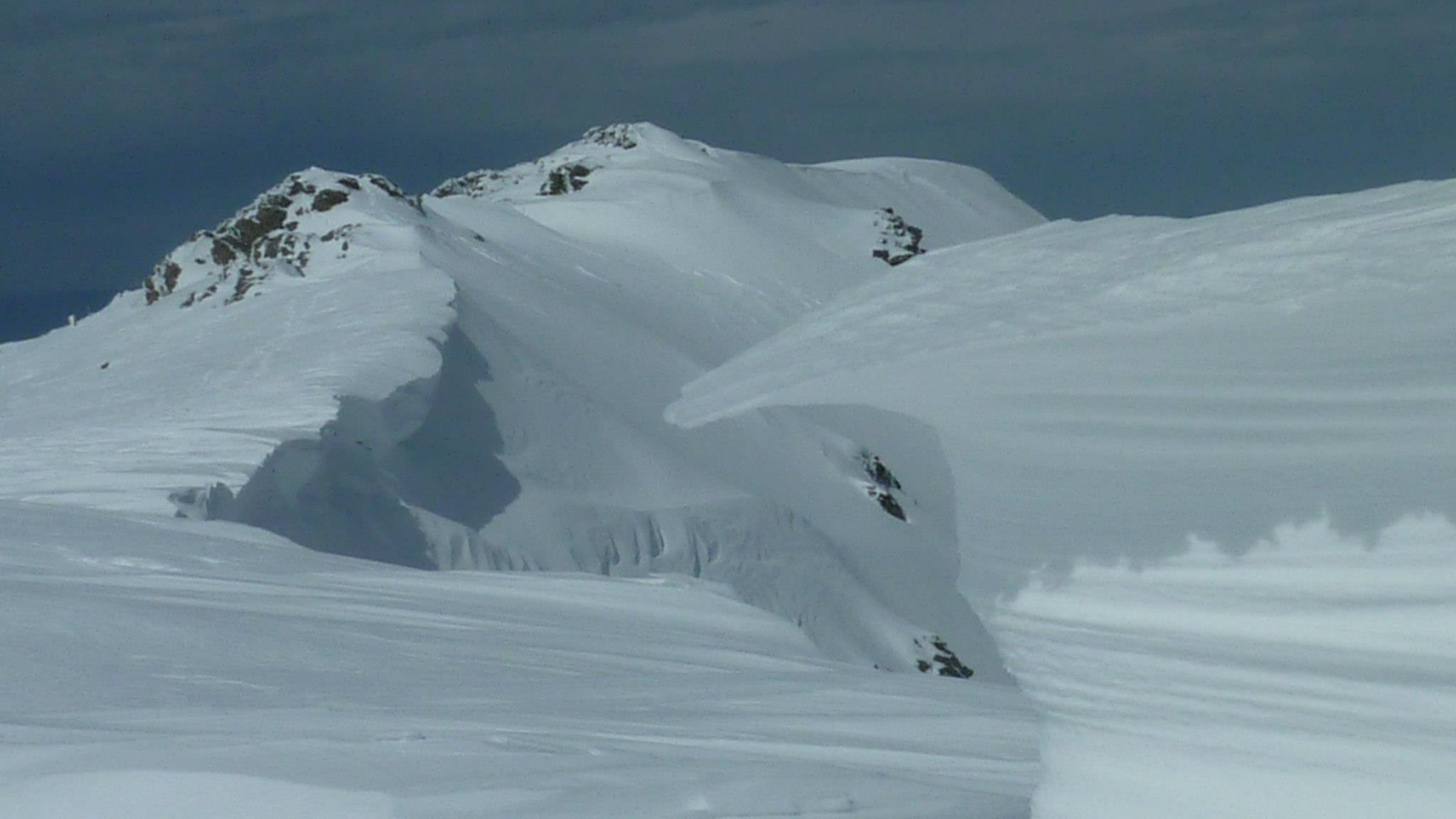 Aufgetürmter Schnee, Foto: Andrea Murgia