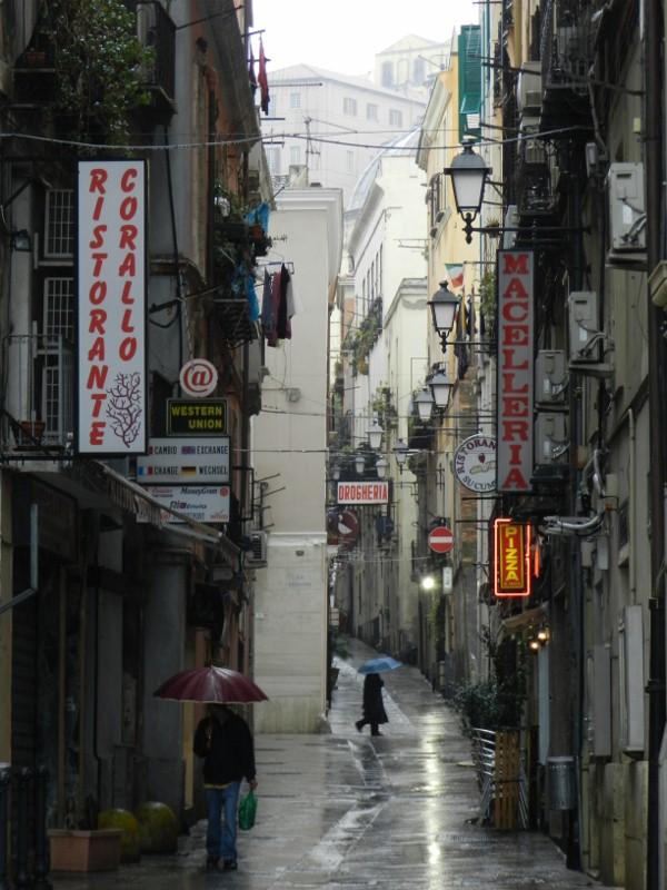 Cagliari, bei Regen ganz privat