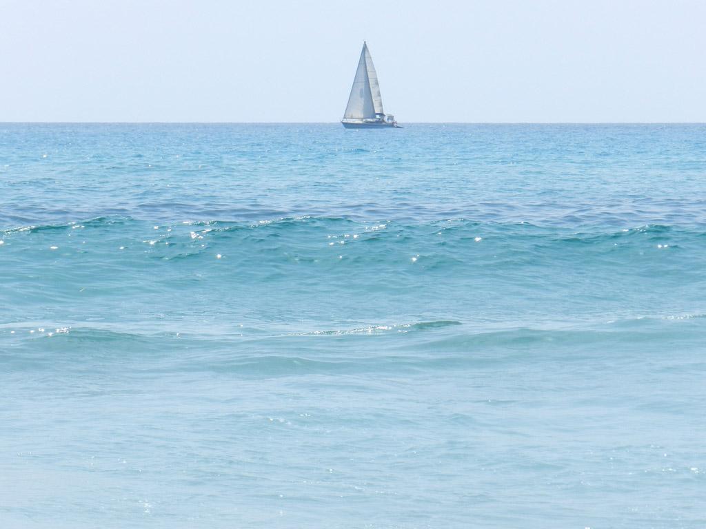 Tyrrhenisches Meer bei Capo Comino