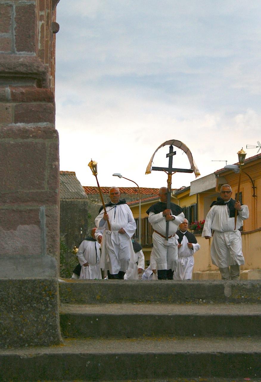 Prozession zu Ehren des Stadtheiligen