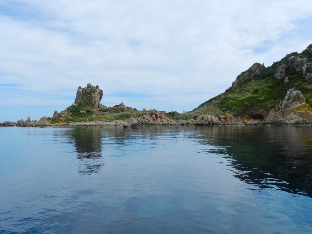 Traumhaft ruhige Ankerbucht bei der Isola Ogliastra