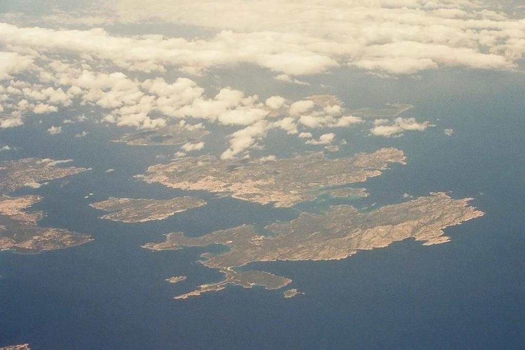 Arcipelago di La Maddalena von oben