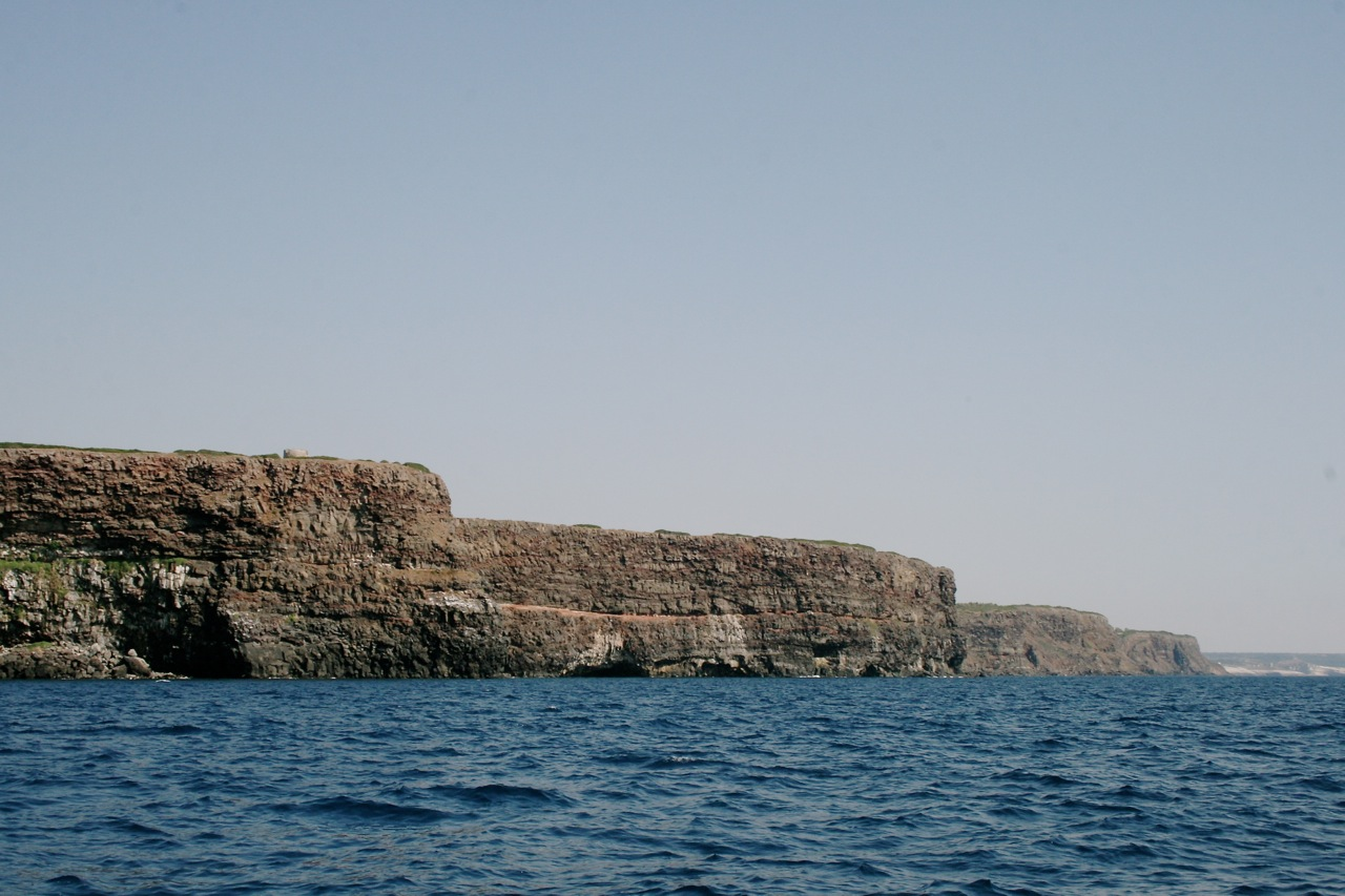Steilküste und Capo Nieddu