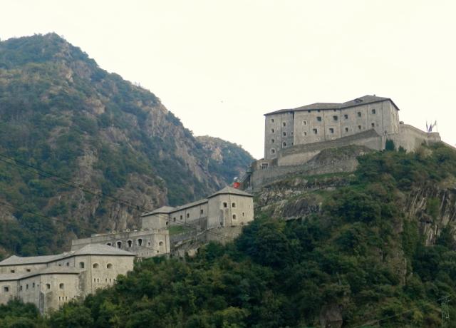 Aosta-Tal: Burgenland (hier: Forte Bard)