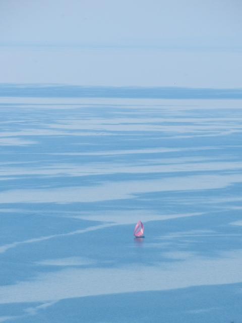 Der Lac Léman oder Genfer See ist richtig groß - fast wie ein Meer!