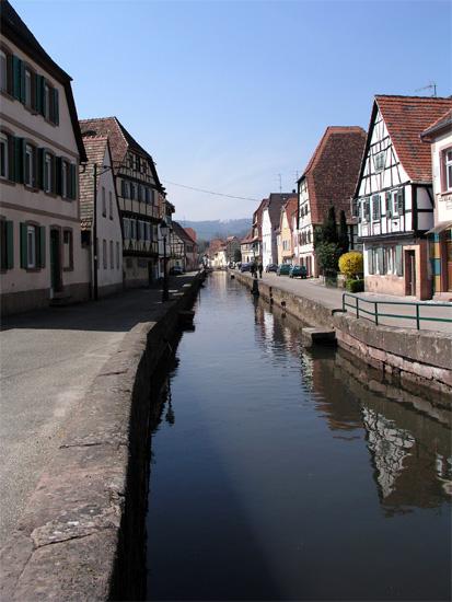 Fachwerk in Wissembourg