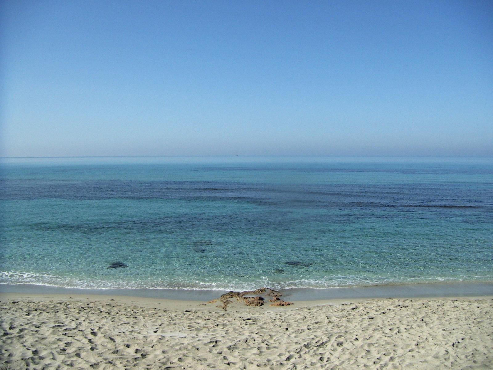 Meer bei Oristano