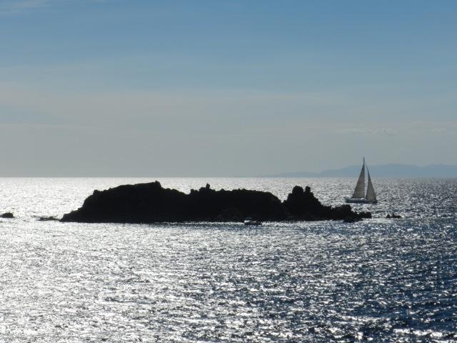 Scoglio vor Capo Carbonara