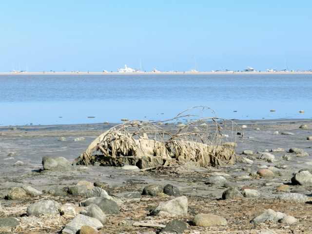 Südostküste: Lagunen am Meer (hier: Villasimius Stagno di Notteri)