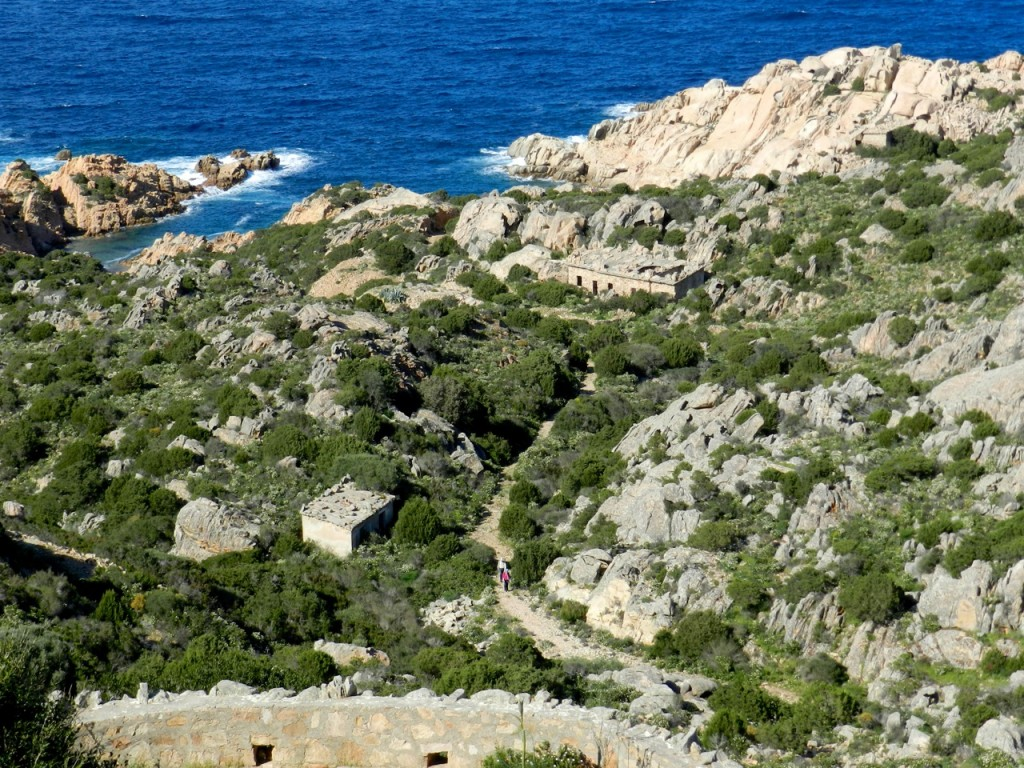 Caprera: Sentiero zum Meer