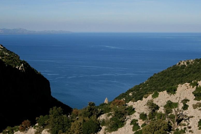 Die Punta Goloritzè kommt langsam in Sicht