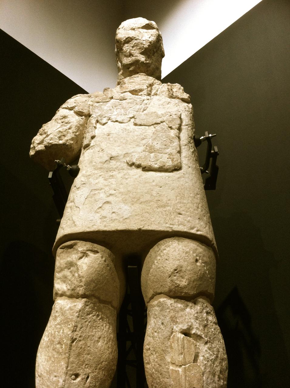 Waren die Giganten tatsächlich Riesen? Dieser hier ist rund zwei Meter gross
