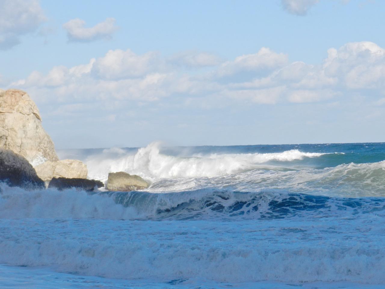 Wilde Wellen am Golfo di Orosei
