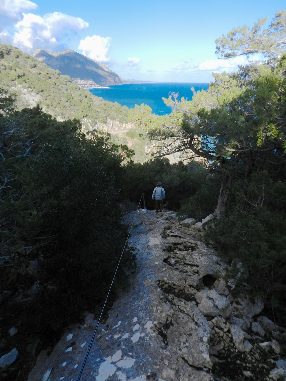 Zwischen Cala Luna und Cala Fuili