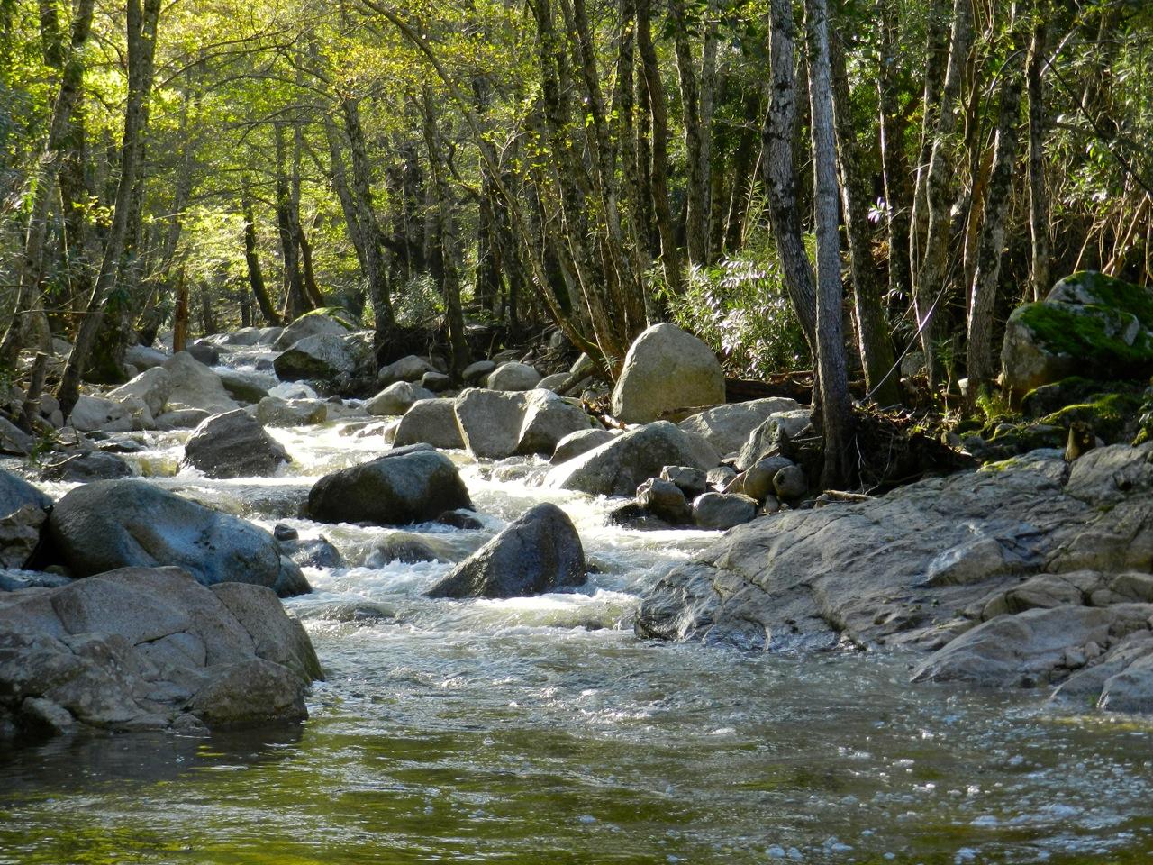 Fluss Riu Codule 'e Iluna