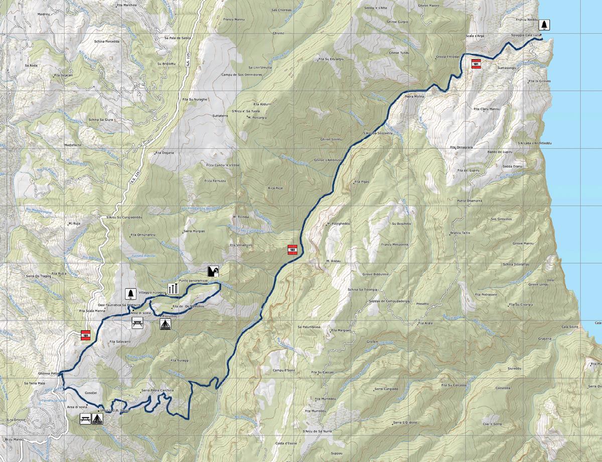 Trekkingpfad 181 - Sa Portiscra - Cala Luna