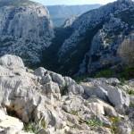 Auf dem Monte Tiscali - atemberaubender Ausblick