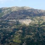 Blick auf Gairo St. Elena