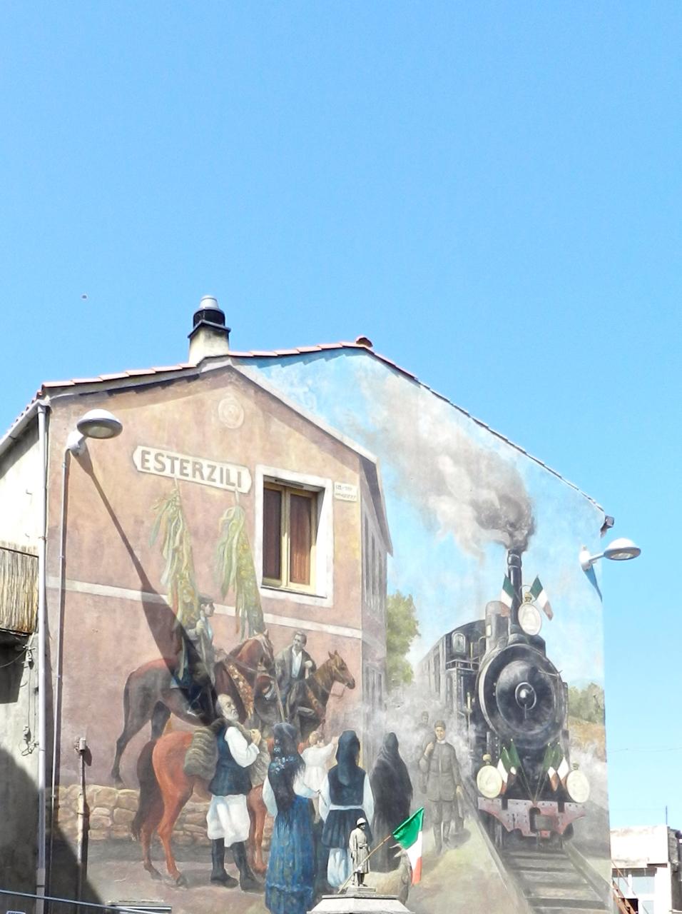 Murales in Esterzili
