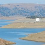 Lago di Mulargia im Spätsommer