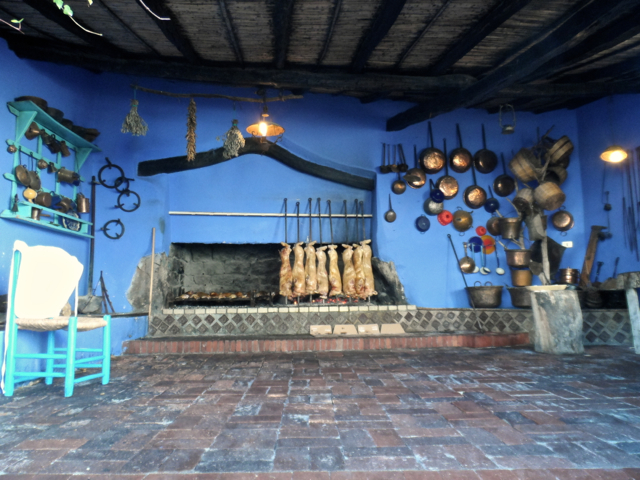 Cucina Rustica im Hotel Su Gologone, Oliena