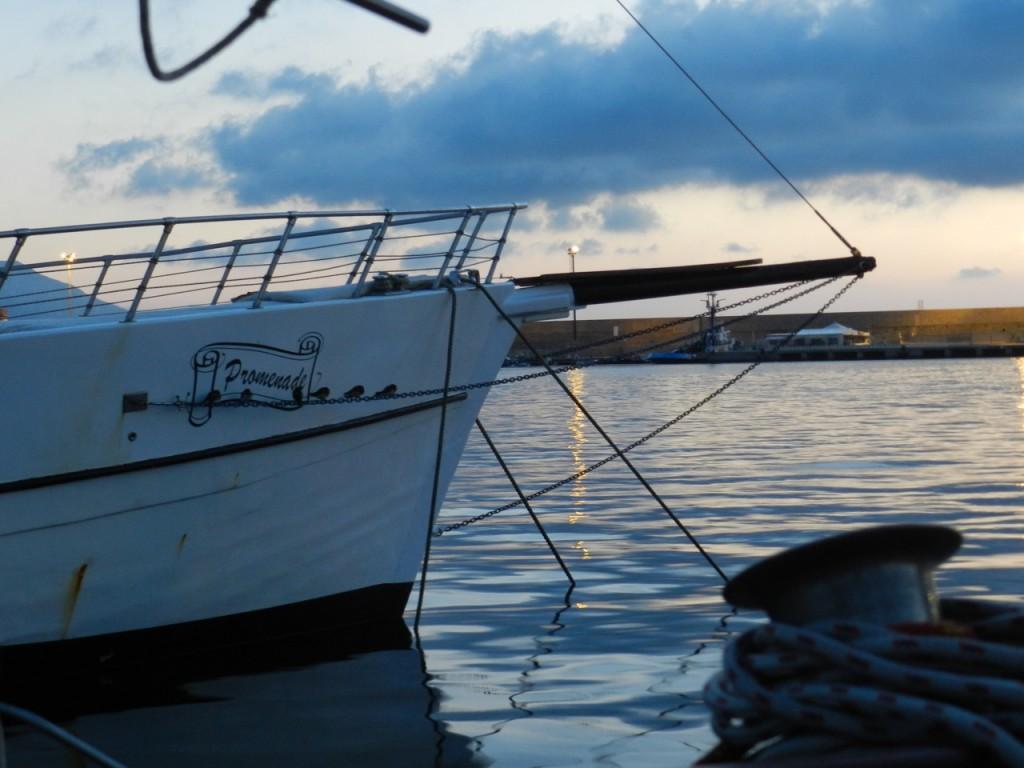 Arbatax - Schutz vor Wind und Wellen