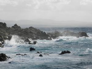 Winterlicher Sturm an der Baia Santa Reparata
