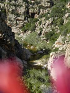 Der Rio Cannas führt im Frühling sogar ein bisschen Wasser