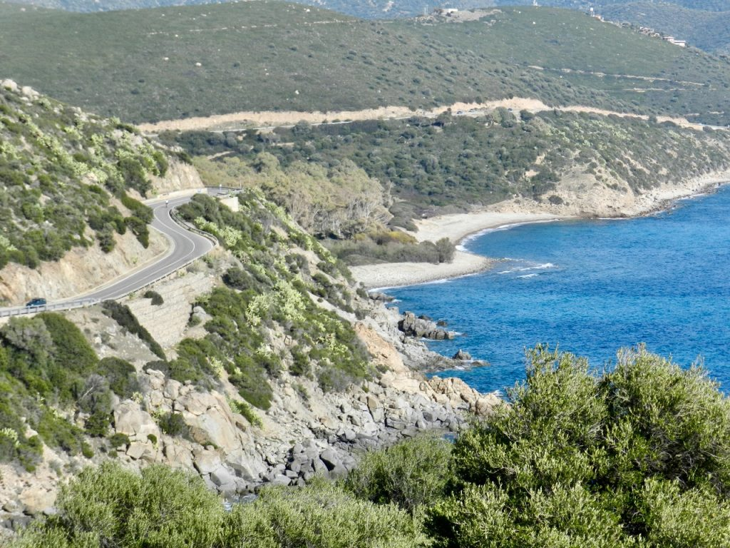 Die perfekte Cabriostrecke: Küstenstraße nach Villasimius