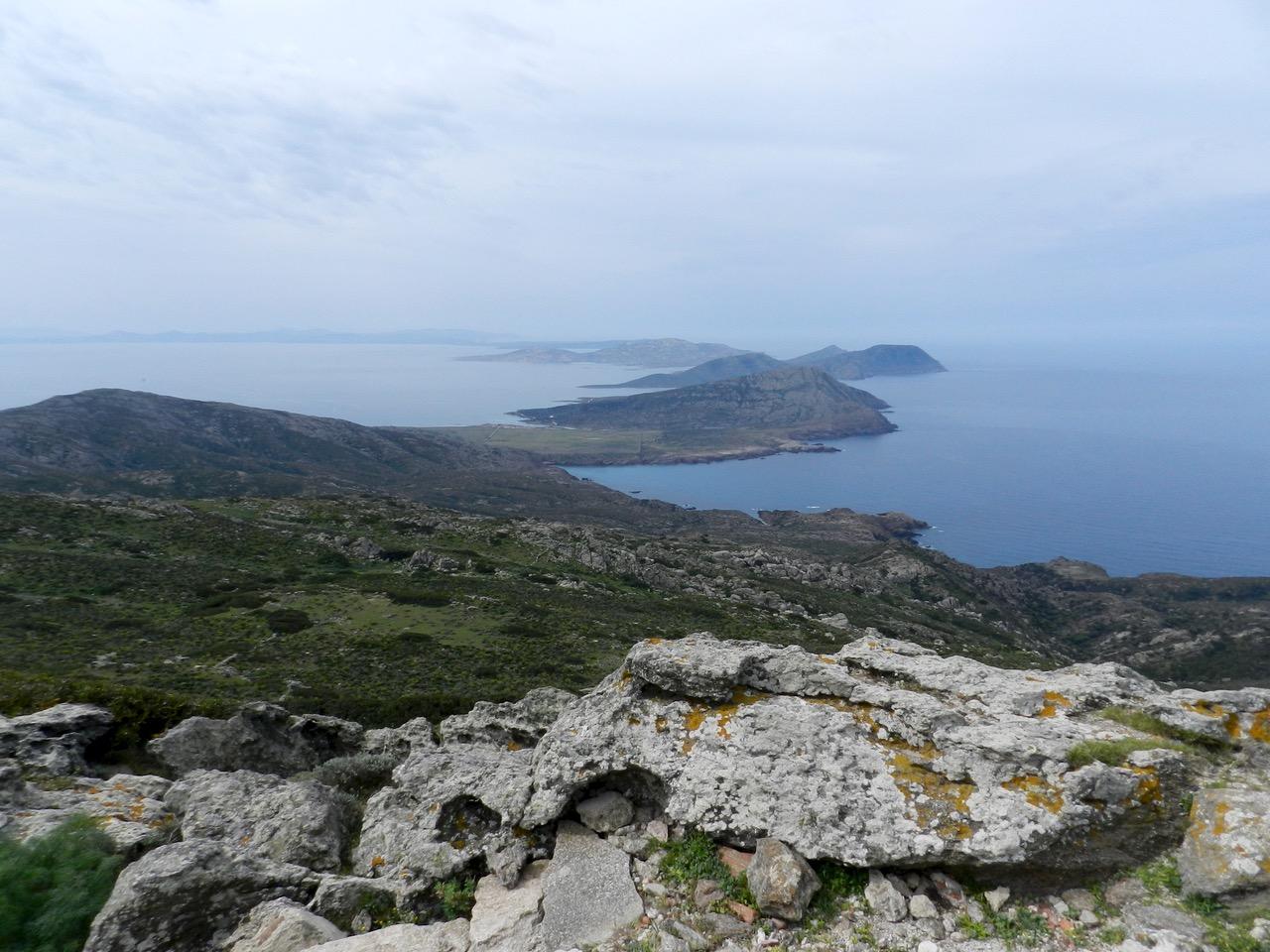 Punta della Scomunica: Blick über die Isola Asinara